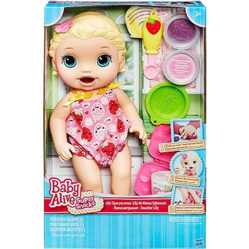 Boneca Baby Alive Lanchinho - Loira HASBRO