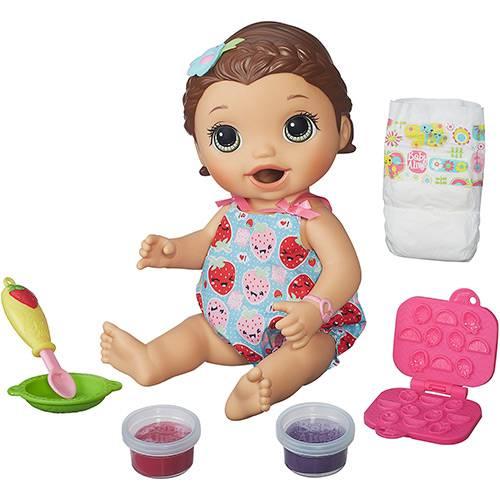 Boneca Baby Alive Lanchinho Morena - Hasbro