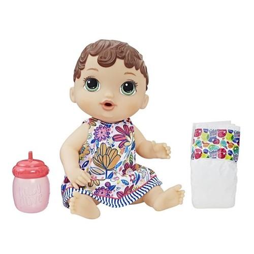 Boneca Baby Alive Morena Hora do Xixi Hasbro E0499