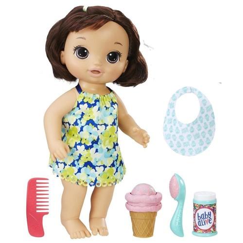 Boneca Baby Alive Sobremesa Magica - Morena HASBRO