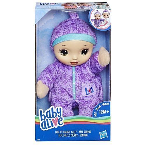 Boneca Baby Alive Soninho Morena - Hasbro
