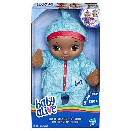 Boneca Baby Alive Soninho Negra - Hasbro