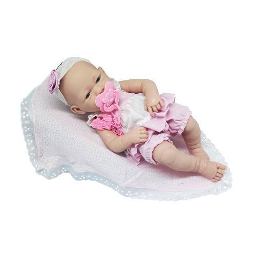 Boneca Baby Ninos com Faixa Rendada - Cotiplás
