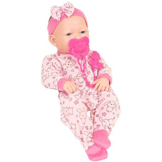 Boneca Baby Ninos Newborn Suquinho - Cotiplás