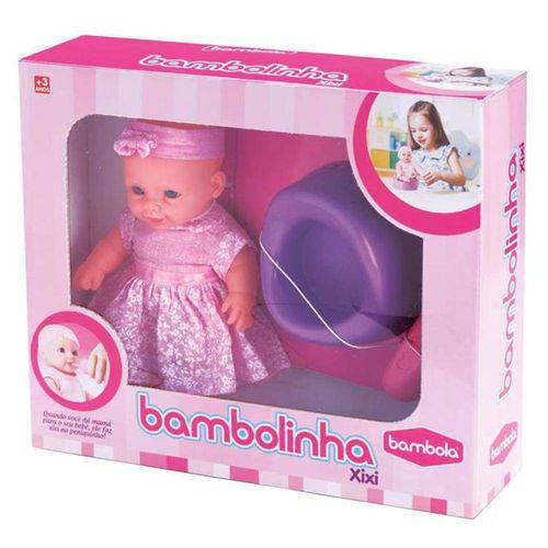 Boneca Bambolinha Xixi - Bambola