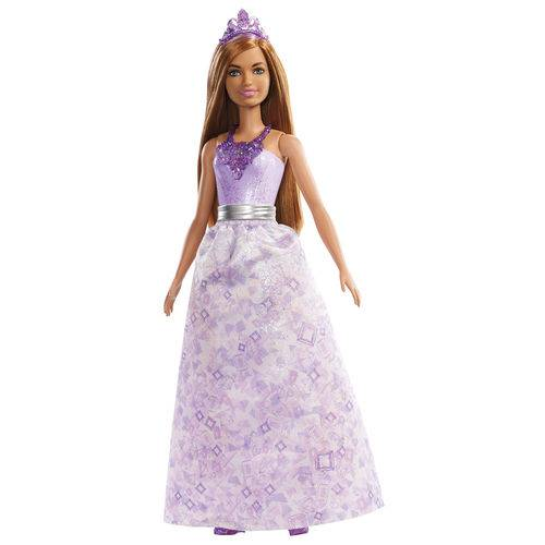 Boneca Barbie - Barbie Dreamtopia - Princesas - Ruiva - Mattel