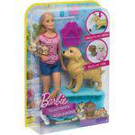 Boneca Barbie Cachorrinho Filhotinho Mattel Oficial - Fdd43