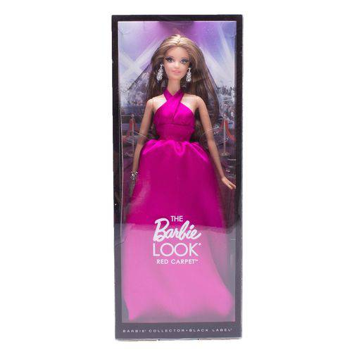 Boneca Barbie Collector Look Red Carpet Magenta Gown - Mattel