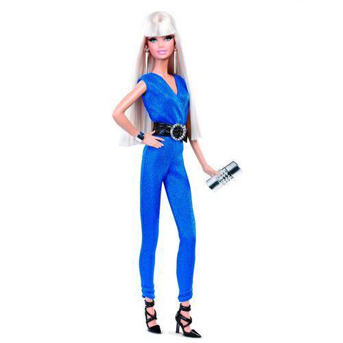 Boneca Barbie Collector The Look Red Carpet – Blue Jumpsuit - Mattel