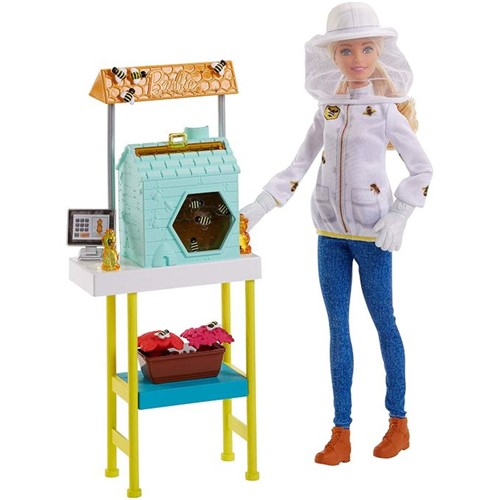 Boneca Barbie Cuidadora de Abelhas Frm17 - MATTEL
