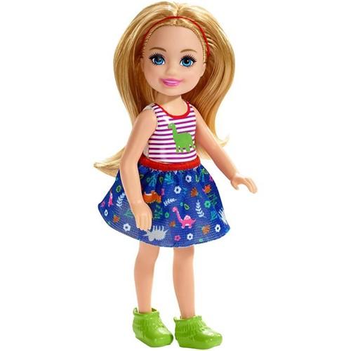 Boneca Barbie Família - Chelsea Club - Dinossauro Fxg82 - MATTEL