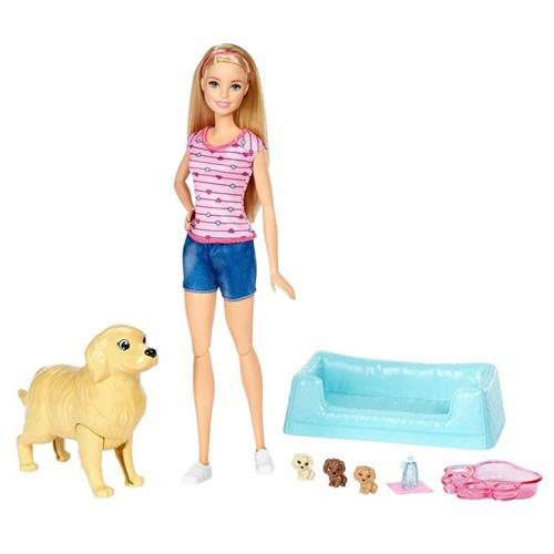 Boneca Barbie Família - Filhotinhos Recém-Nascidos Fdd43 - MATTEL