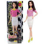 Boneca Barbie Fashionistas Oriental Morena Doll Número 30 - Mattel