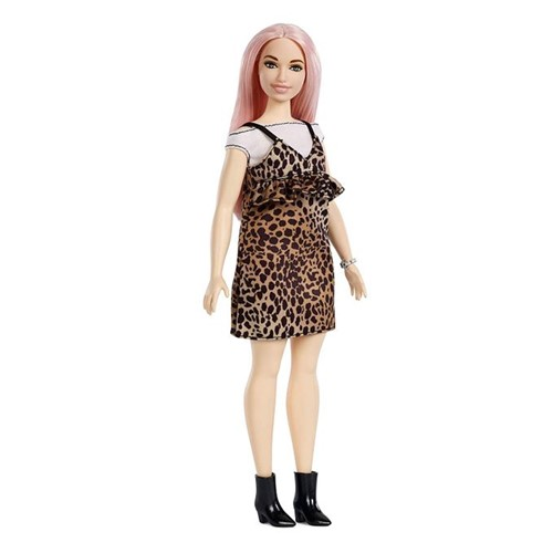 Boneca Barbie Fashionistas - Vestido Oncinha Fxl49 - MATTEL