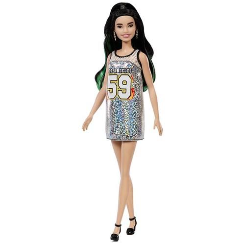 Boneca Barbie Fashionistas - Vestido Prata Fxl50 - MATTEL