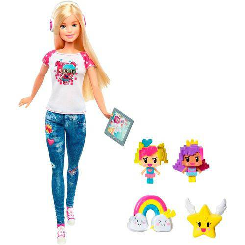 Boneca Barbie Mundo Real Video Game Hero - Mattel