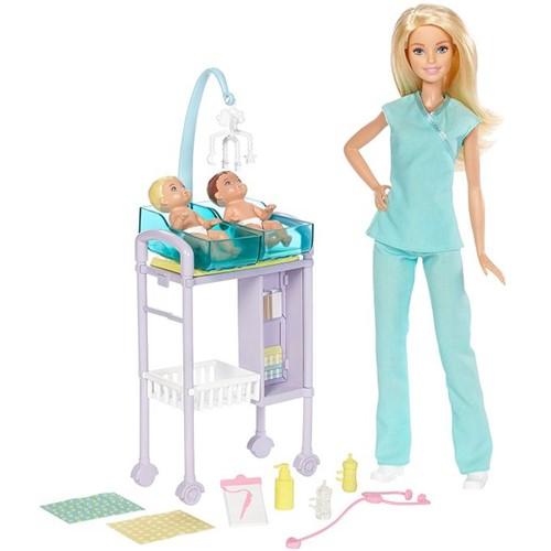 Boneca Barbie Pediatra Dvg10 - MATTEL