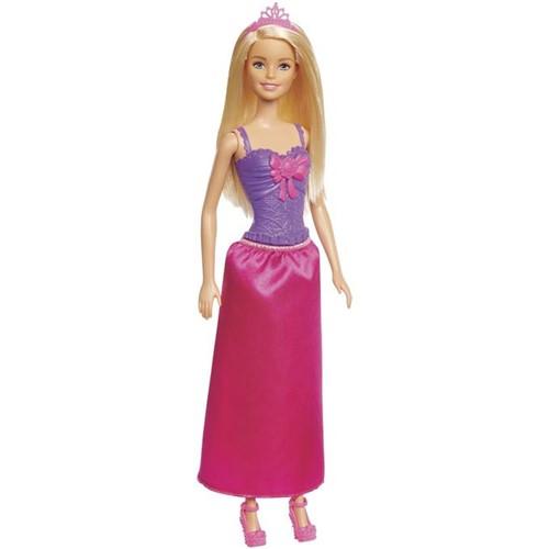 Boneca Barbie - Princesa Básica Loira Ggj94 - MATTEL
