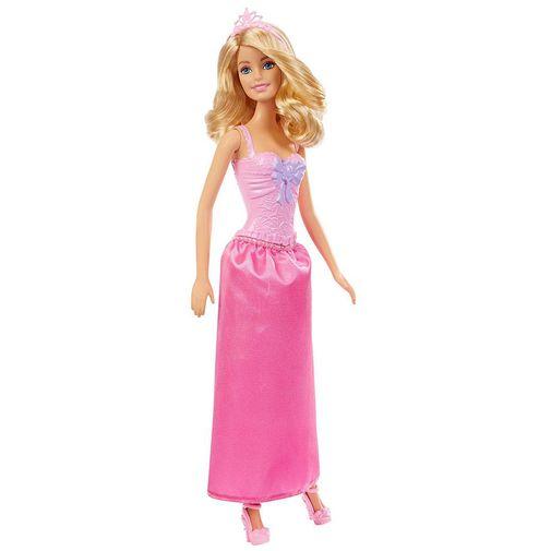 Boneca Barbie - Princesa Básica Loira - Mattel