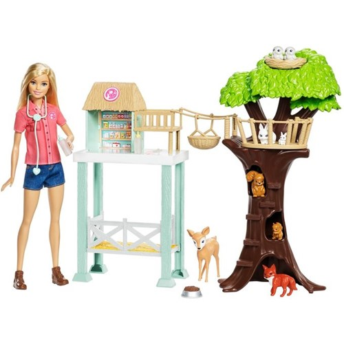 Boneca Barbie Profissões - Cuidadora de Bichinhos Fcp78 - MATTEL