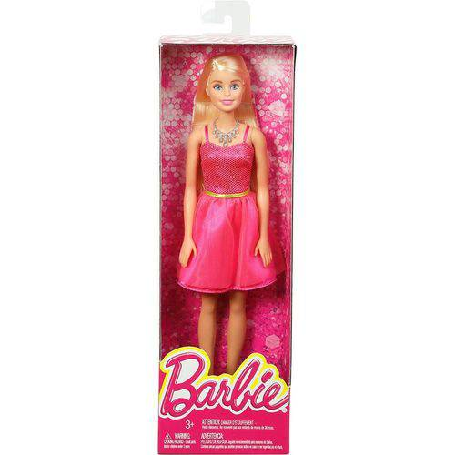 Boneca Barbie - Vestido Rosa