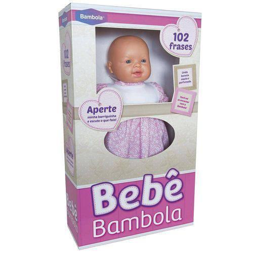 Boneca Bebê 102 Frases Perumada 501 Bambola