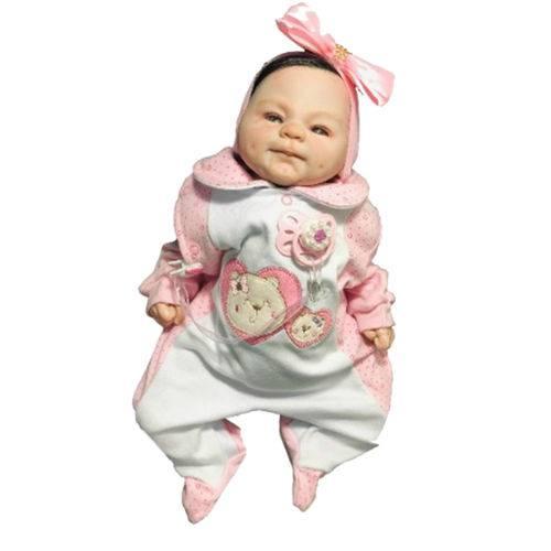 Boneca Bebê Reborn Ana Bella Detalhes Realisticos