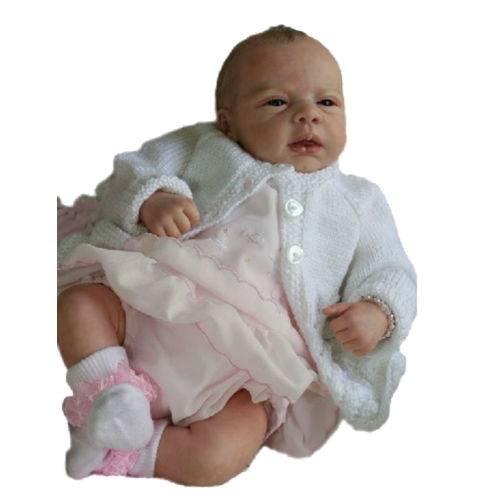 Boneca Bebê Reborn Ana Carolina Autêntica