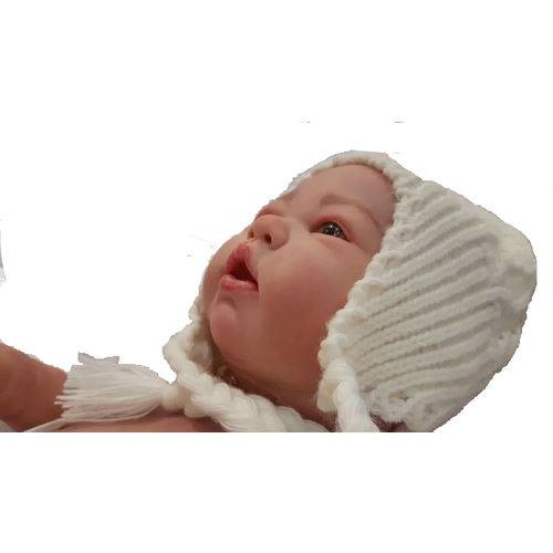 Boneca Bebê Reborn Autentica Charlotte com Corpo Inteiro
