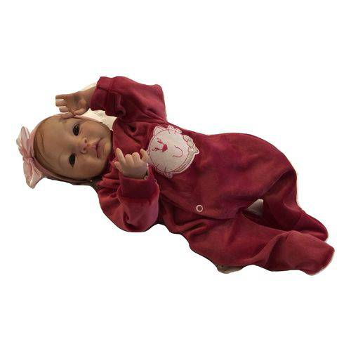 Boneca Bebê Reborn Camila Molde Autentico