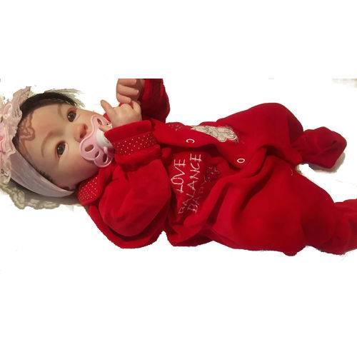Boneca Bebê Reborn Mariah Autentica