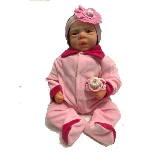 Boneca Bebê Reborn Mirella Autentica