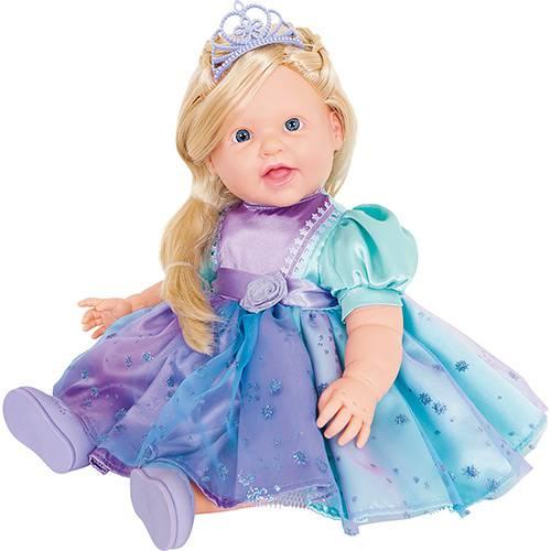 Boneca Charmosa Princesa Loira - Cotiplás