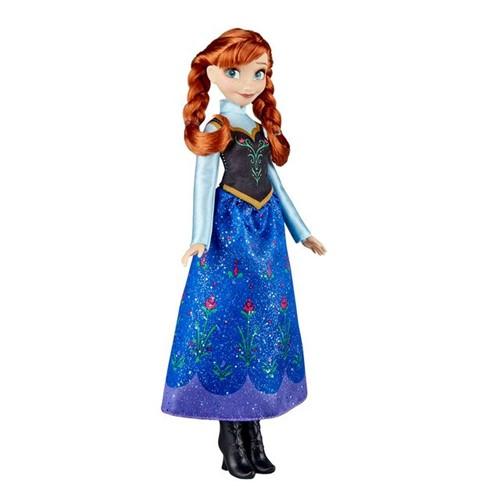 Boneca Clássica Anna Frozen E0316 Hasbro Azul