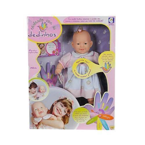 Boneca Contando com os Dedinhos - Cotiplás
