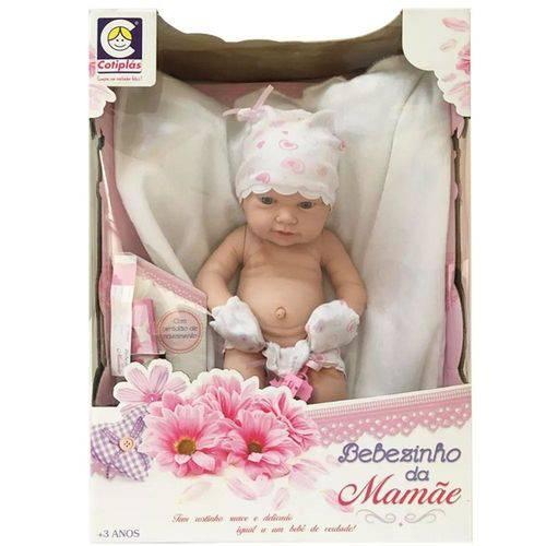 Boneca Cotiplás Bebezinho da Mamãe Recém Nascido