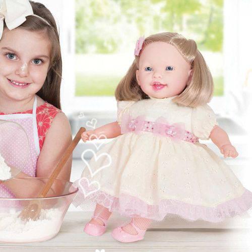 Boneca Cozinhando com a Mamae 44cm