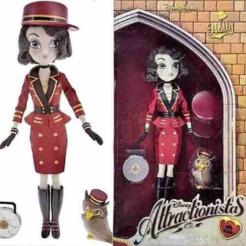Boneca Disney Attractionistas Holly
