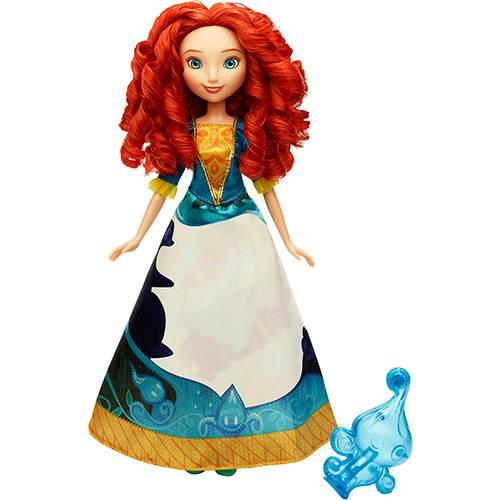 Boneca Disney Princesas Vestido Mágico Merida - Hasbro