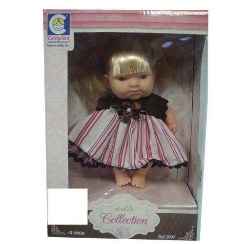 Boneca Dolls Collection - 2001 - Cotiplás