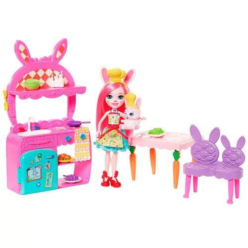 Boneca e Acessórios - 15 Cm - Enchantimals - Cômodas da Casa - Bree Bunny - Mattel