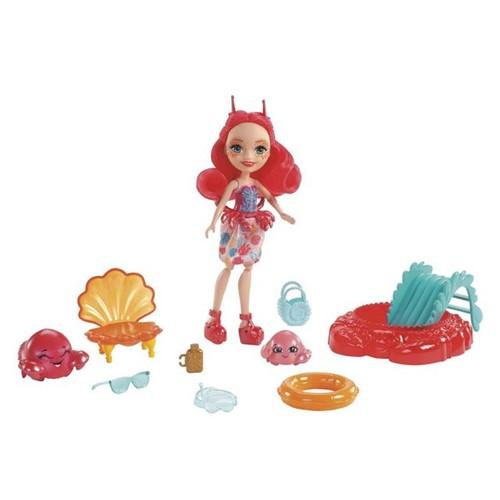 Boneca Enchantimals FKV58 Mattel Cameo Crab Cameo Crab