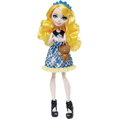 Boneca Ever After High Piquenique Encantado Blondie Locker - Mattel