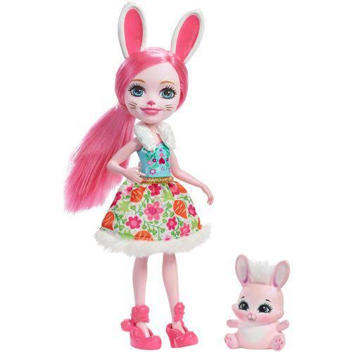 Boneca Fashion e Pet - Enchantimals - Bree Bunny - Mattel