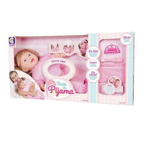 Boneca Festa do Pijama Bebe Cotiplas