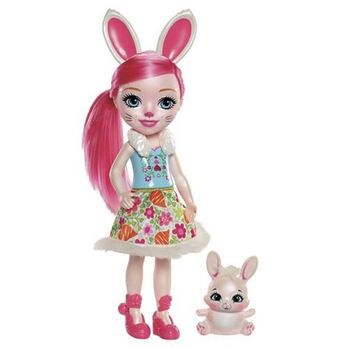 Boneca Grande Enchantimals FRH51 Mattel Bree Bunny Bree Bunny
