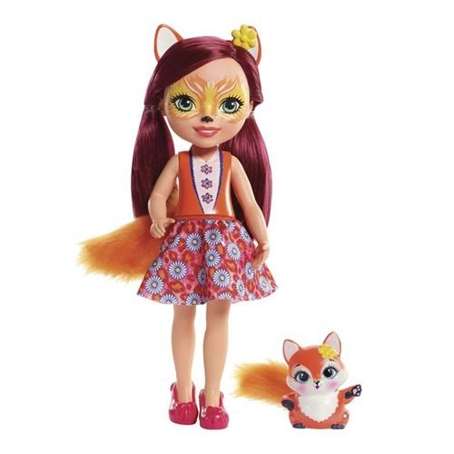 Boneca Grande Enchantimals FRH51 Mattel Felicity Fox Felicity Fox