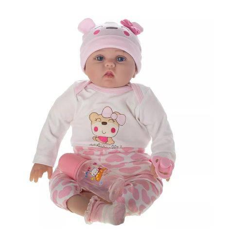 Boneca Laura Baby Melinda - Bebe Reborn - Shiny Toys