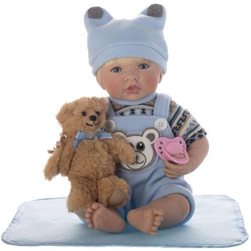 Boneca Laura Newborn Enzo - Bebe Reborn