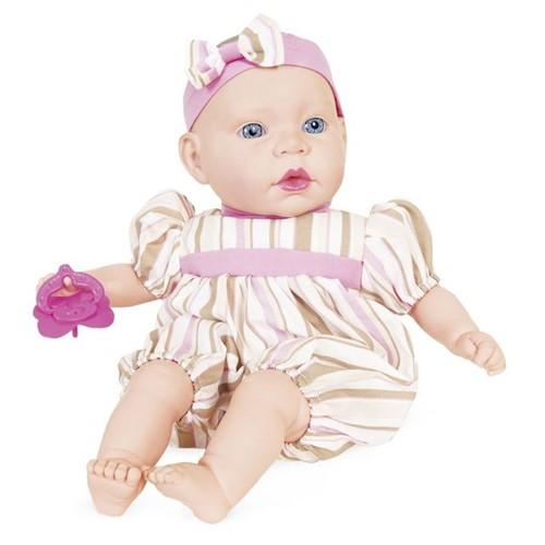 Boneca Life Baby Bebezinho 2169 Cotiplás Rosa